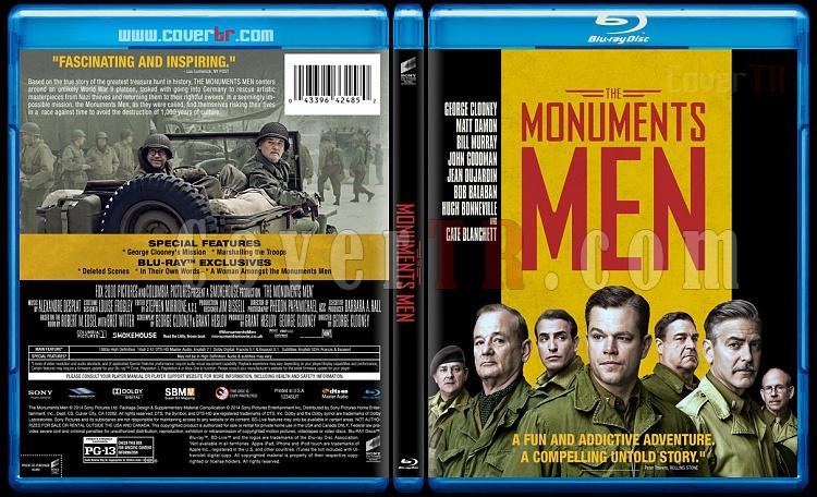 The Monuments Men (Hazine Avcıları) - Custom Bluray Cover - English [2014]-monuments-men-v2-prevjpg
