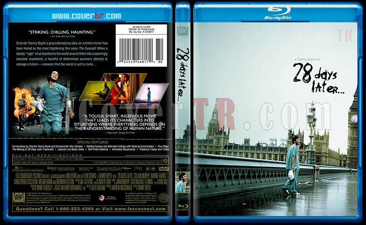 28 Days Later... - Custom Bluray Cover - English [2002]-28-days-later-blurayjpg
