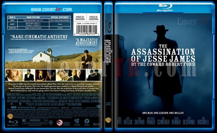 The Assassination of Jesse James by the Coward Robert Ford - Custom Bluray Cover - English [2007]-assassination-jesse-james-coward-robert-fordjpg