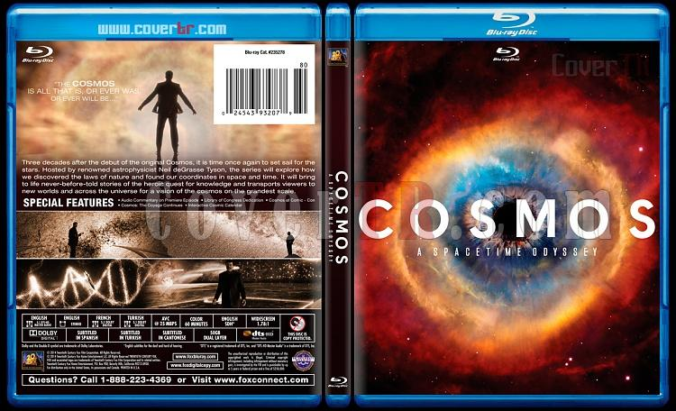 Cosmos A SpaceTime Odyssey (Cosmos: Bir Uzay Serüveni) - Custom Bluray Cover - English-blu-ray-1-disc-flat-3173x1762-11mmjpg