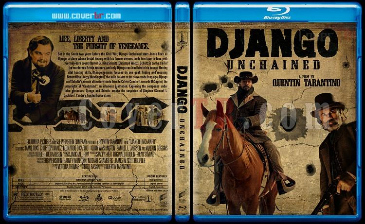 Django Unchained (Zincirsiz) - Custom Bluray Cover - English [2012]-django_unchained_brjpg
