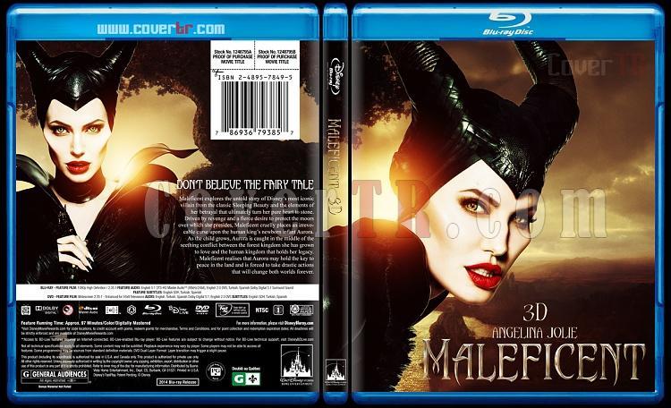Maleficent (Malefiz) - Custom Bluray Cover - English [2014]-blu-ray-1-disc-flat-3173x1762-11mmjpg