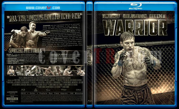 Warrior - Custom Bluray Cover - English [2011]-warrior-previewjpg