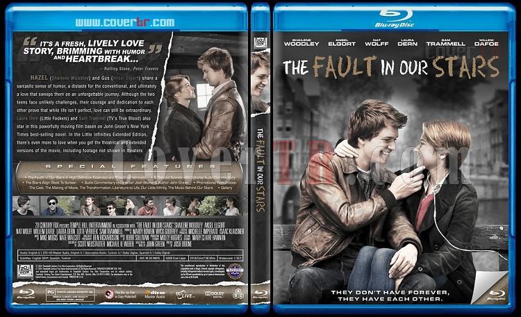 The Fault In Our Stars (Aynı Yıldızın Altında) - Custom Bluray Cover - English [2014]-previewjpg