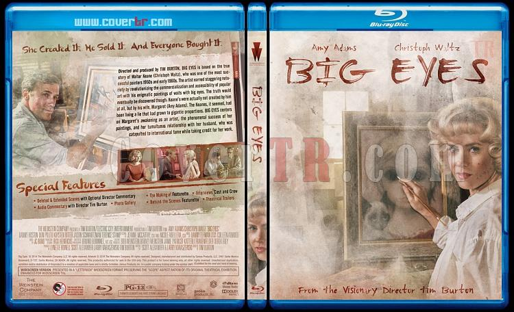 Big Eyes - Custom Bluray Cover - English [2014]-preview-2jpg