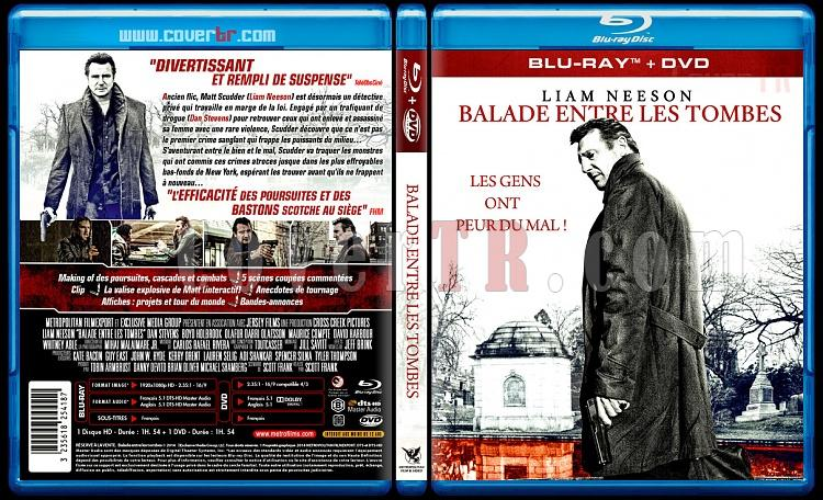 A Walk Among the Tombstones (Balade Entre Les Tombes) - Custom Bluray Cover - French [2014]-dalade-entre-les-tombes-blu6rayjpg