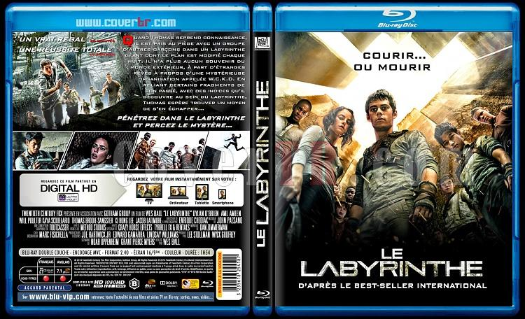 The Maze Runner (Le Labyrinthe) - Custom Bluray Cover - French [2014]-blu-ray-1-disc-flat-3173x1762-11mmjpg