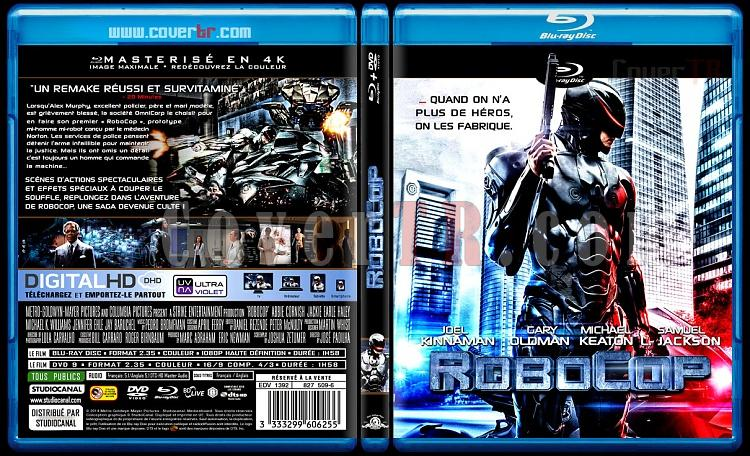 Robocop - Custom Bluray Cover - French [2014]-blu-ray-1-disc-flat-3173x1762-11mmjpg