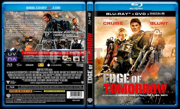 Edge of Tomorrow - Custom Bluray Cover - French [2014]-blu-ray-1-disc-flat-3173x1762-11mmjpg