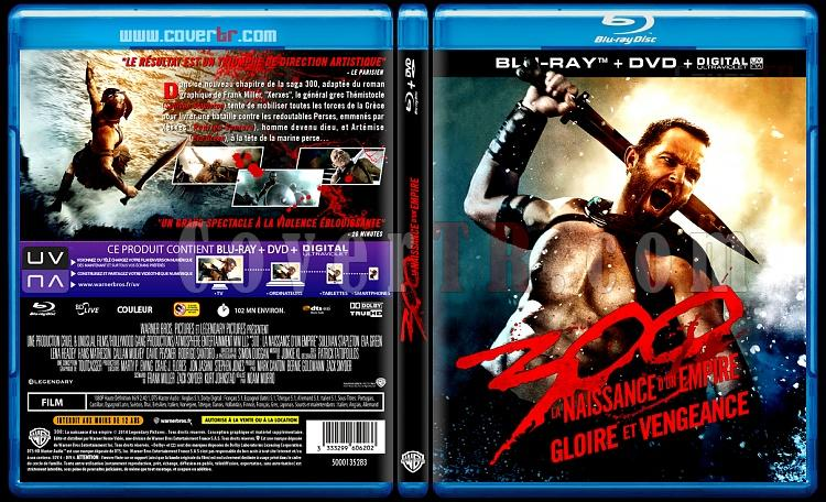 300: Rise of an Empire - Custom Bluray Cover - French [2004]-blu-ray-1-disc-flat-3173x1762-11mmjpg