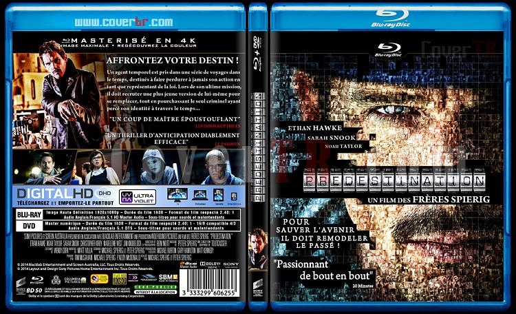 Predestination - Custom Bluray Cover - French [2014]-blu-ray-1-disc-flat-3173x1762-11mmjpg