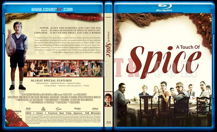 A Touch Of Spice (Baharatın Tadı) - Custom Bluray Cover - English [2003]-blu-ray-1-disc-flat-3173x1762-11mmjpg