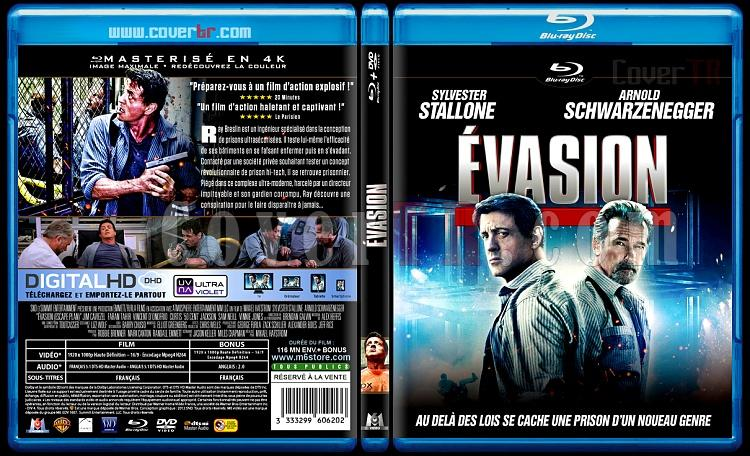 Escape Plan (Evasion) - Custom Bluray Cover - French [2013]-evasion-11mmjpg