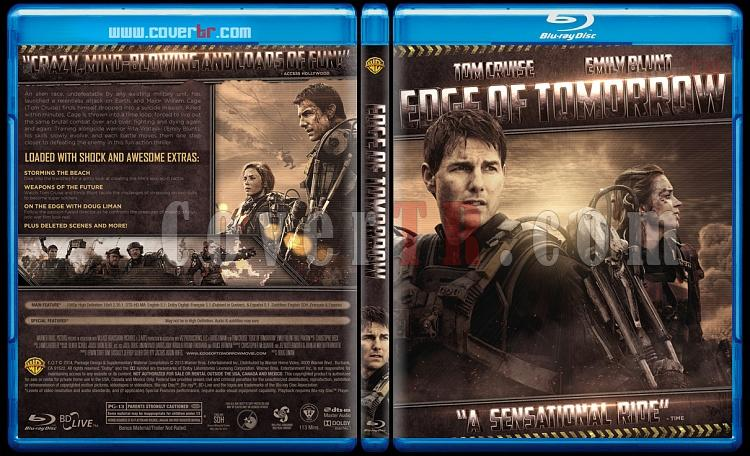 Edge Of Tomorrow - Custom Bluray Cover - English [2014]-prev-2jpg