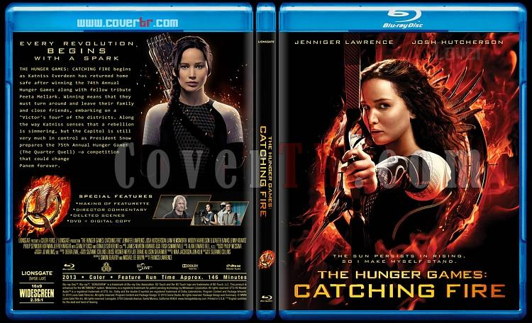 The Hunger Games: Catching Fire - Custom Bluray Cover - English [2013]-hunger-games-catching-fire-v2jpg