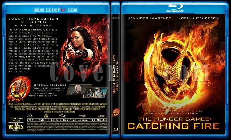 The Hunger Games: Catching Fire - Custom Bluray Cover - English [2013]-hunger-games-catching-fire-v4jpg