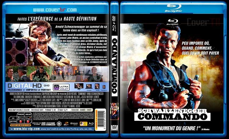 Commando - Custom Bluray Cover - French [1985]-commjpg