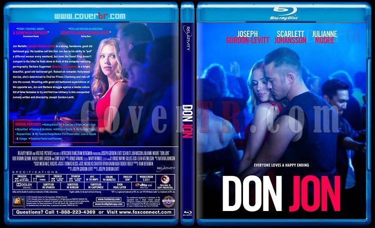 Don Jon - Custom Bluray Cover - English [2013]-don-jon-bluray-cover-no-barcodejpg