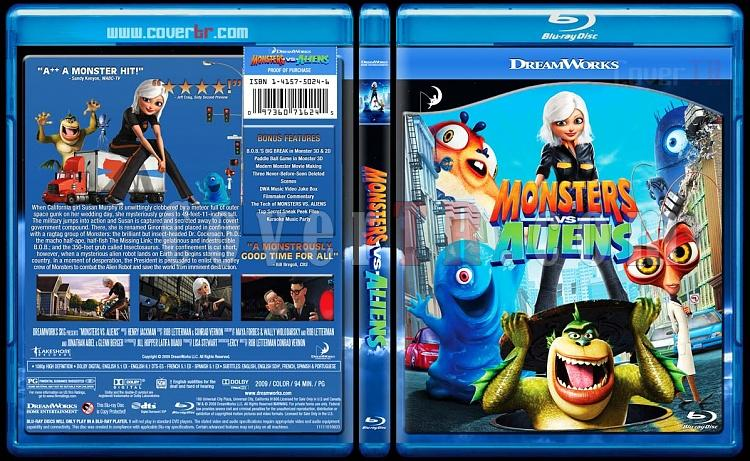 Monsters vs. Aliens - Custom Bluray Cover - English [2009]-monsters_vs_aliensjpg