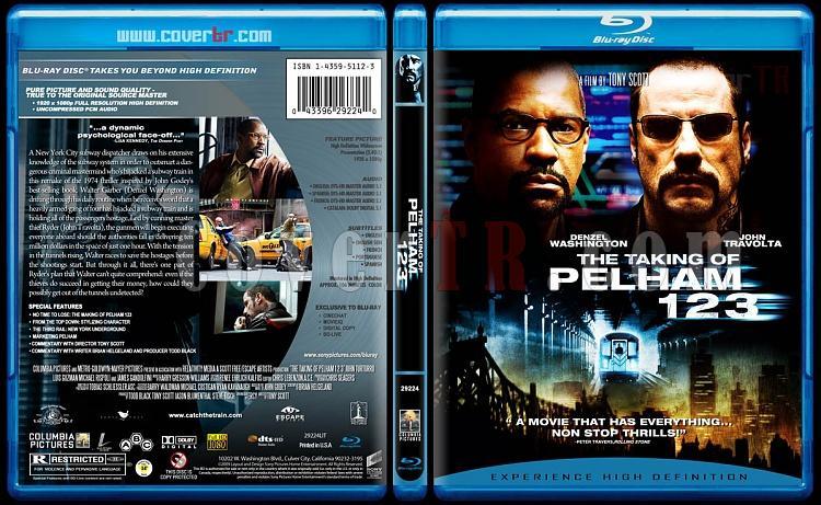 The Taking of Pelham 1 2 3 - Custom Bluray Cover - English [2009]-ttop123_blurayjpg