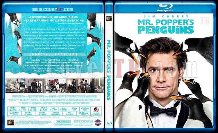 Mr. Popper's Penguins - Custom Bluray Cover - English [2011]-mr-poppers-penguinsjpg