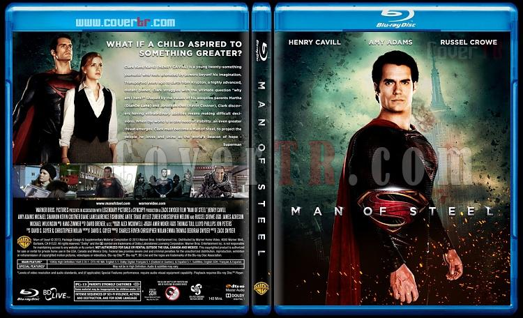 Man of Steel - Custom Bluray Cover - English [2013]-man-steeljpg