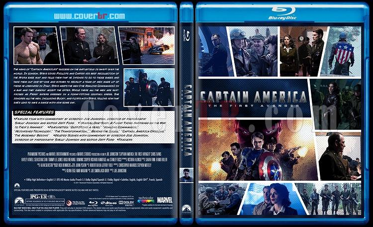 Captain America: The First Avenger - Custom Bluray Cover - English [2011]-captain-america-2jpg