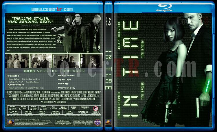 In Time - Custom Bluray Cover - English [2011]-timejpg
