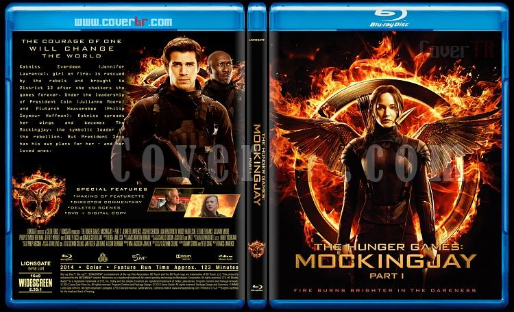 The Hunger Games: Mockingjay - Part 1 - Custom Bluray Cover - English [2014]-blu-ray-1-disc-flat-3173x1762-11mmjpg