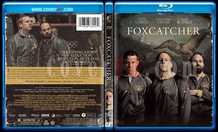 Foxcatcher - Custom Bluray Cover - English [2014]-v1jpg