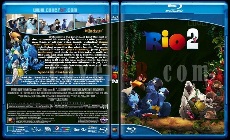 Rio 2 - Custom Bluray Cover - English [2014]-rio-2-blu-rayprew2jpg