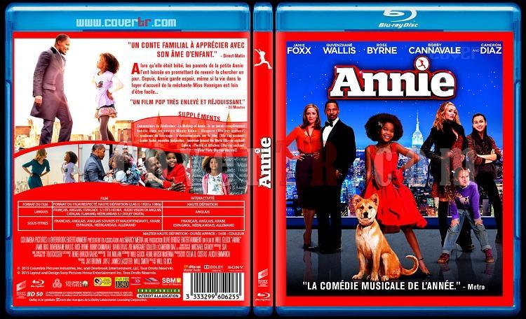 Annie - Custom Bluray Cover - French [2014]-anniejpg