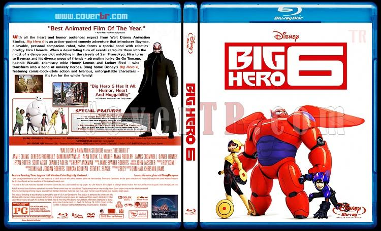Big Hero 6 - Custom Bluray Cover - English [2014]-big-hero-6-blu-rayprew2jpg