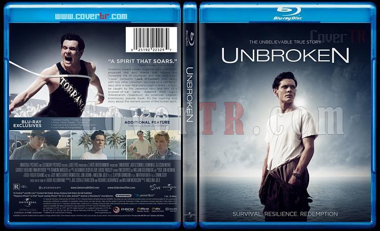 Unbroken - Custom Bluray Cover - English [2015]-unjpg