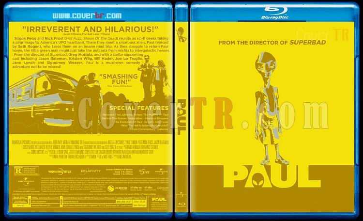 Paul - Custom Bluray Cover - English [2011]-paul-v2-blu-rayprewjpg