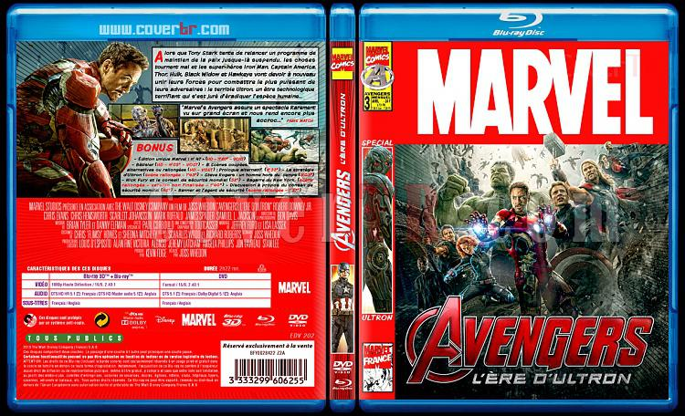 Avengers: Age of Ultron (Avengers : L'ère d'Ultron) - Custom Bluray Cover - French [2015]-avengers-l-ere-dultron-casejpg