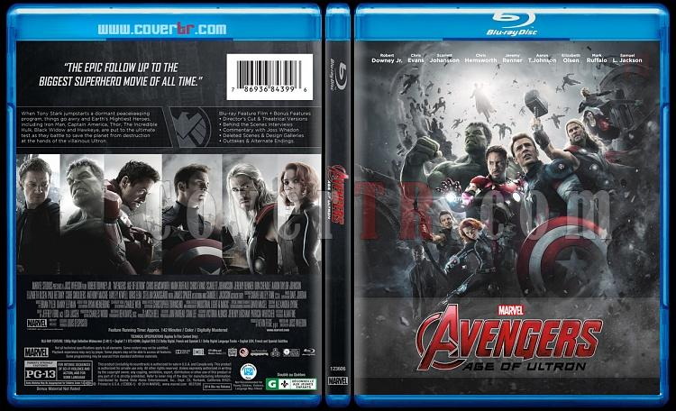 Avengers: Age of Ultron - Custom Bluray Cover - English [2015]-1jpg