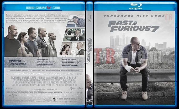 Furious 7 - Custom Bluray Cover - English [2015]-2jpg