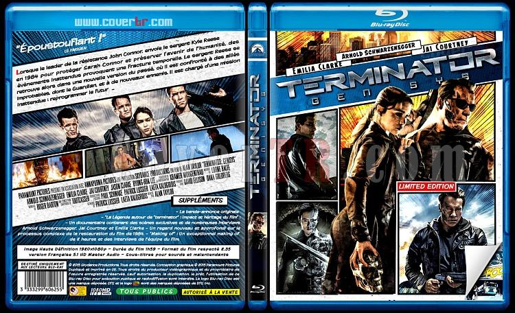 Terminator: Genisys - Custom Bluray Cover - French [2015]-reel-terminator-gejpg