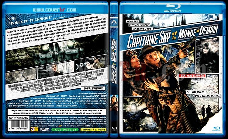 Sky Captain and the World of Tomorrow - Custom Bluray Cover - French [2004]-capitainjpg