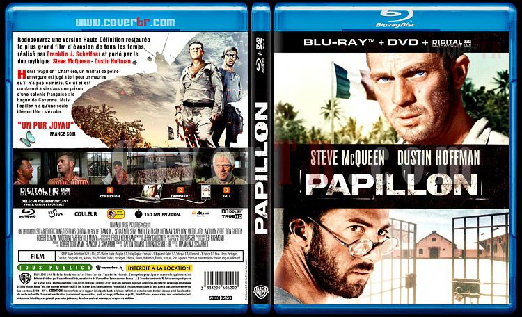 Papillon - Custom Bluray Cover - French [1973]-papillonjpg