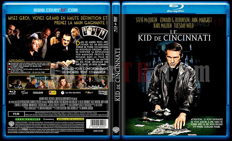 The Cincinnati Kid (Le Kid de Cincinnati) - Custom Bluray Cover - French [1965]-le-kid-de-cincinnatijpg