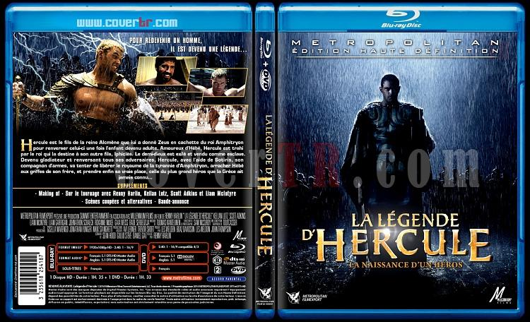 The Legend of Hercules (La légende d'Hercule) - Custom Bluray Cover - French [2014]-la-ligende-dherculejpg