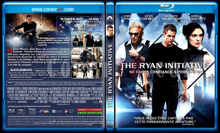 Jack Ryan: Shadow Recruit (The Ryan Initiative) - Custom Bluray Cover - French [2014]-ryan-initiativejpg