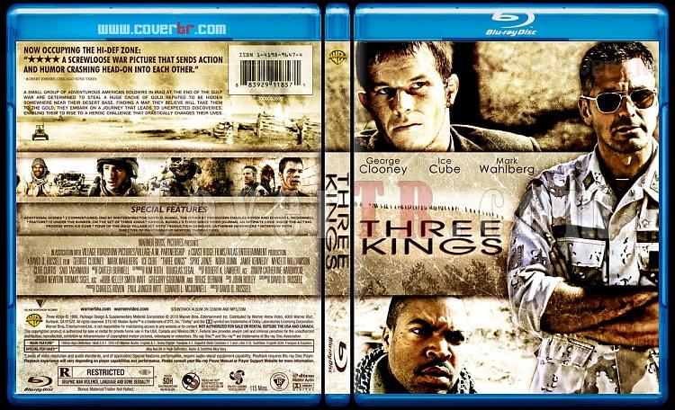 Three Kings - Custom Bluray Cover - English [1999]-three_kings-by_matushjpg
