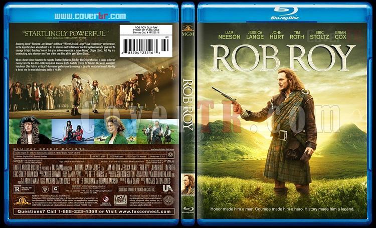 Rob Roy - Custom Bluray Cover - English [1995]-300robroybluraycoverbunnydojojpg