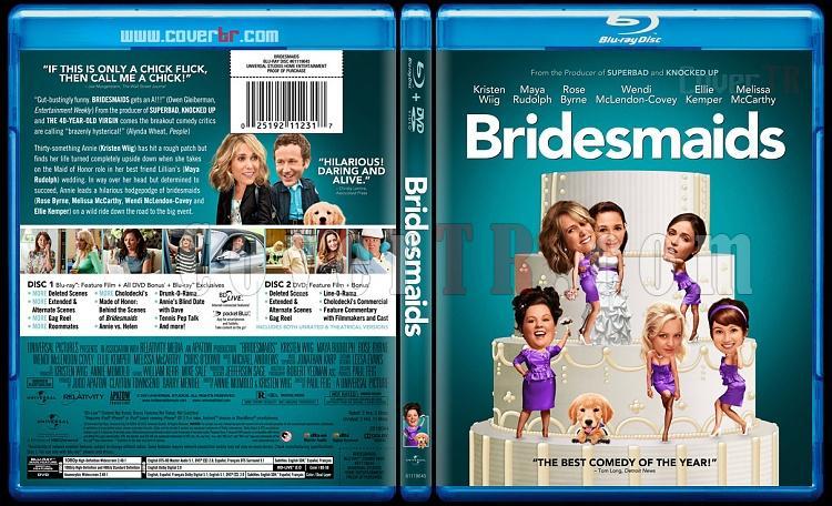 Bridesmaids - Custom Bluray Cover - English [2011]-bridesmaidsblubunnydojojpg