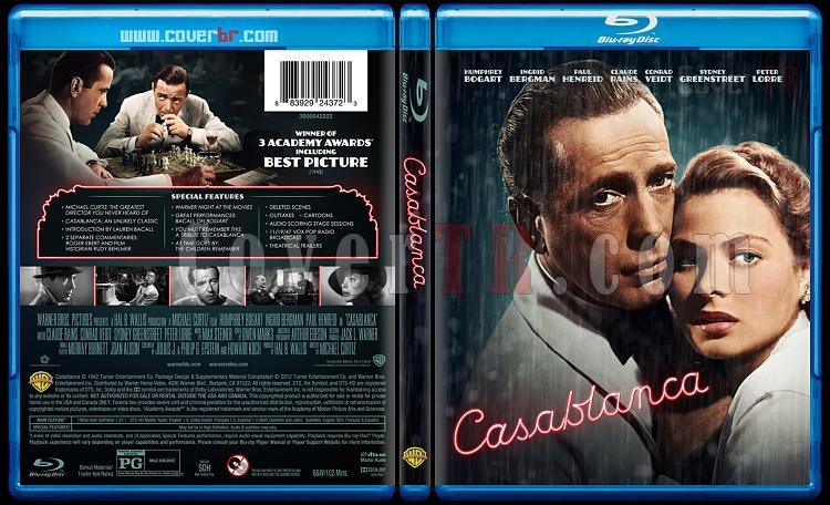 Casablanca - Custom Bluray Cover - English [1942]-casablancajpg