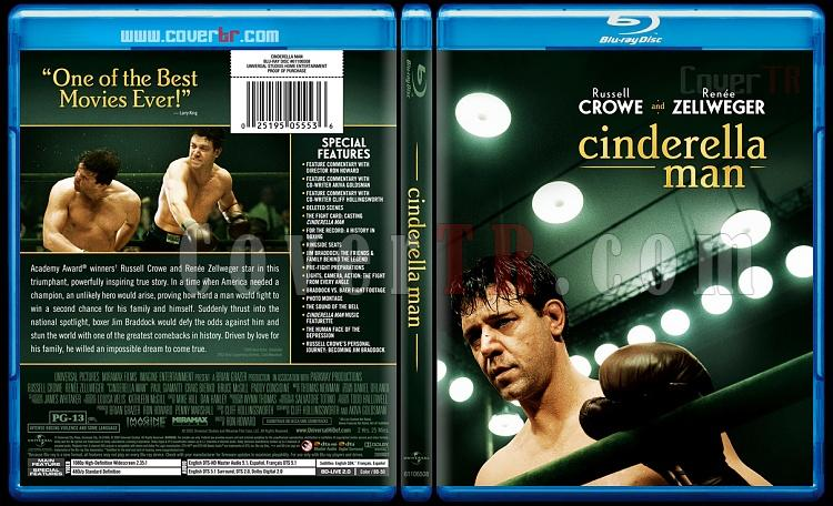 Cinderella Man - Custom Bluray Cover - English [2005]-cinderellamanbluraycoverbunnydojojpg