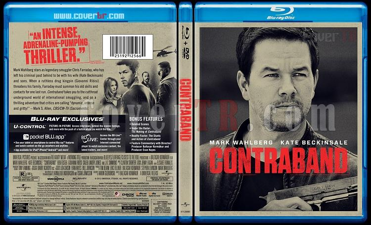 Contraband - Custom Bluray Cover - English [2012]-contrjpg
